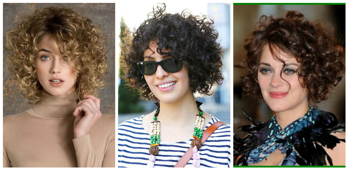 cortes de cabelo curto feminino 2019, cabelo cacheado