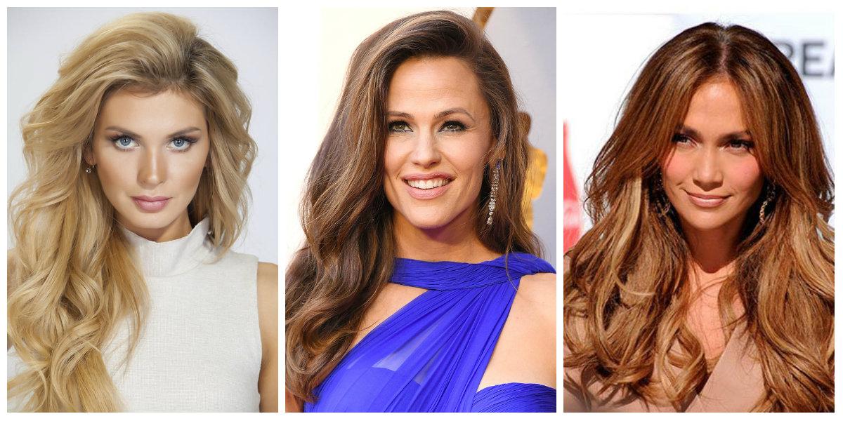 cortes de cabelo longo 2018, cabelo em cascata