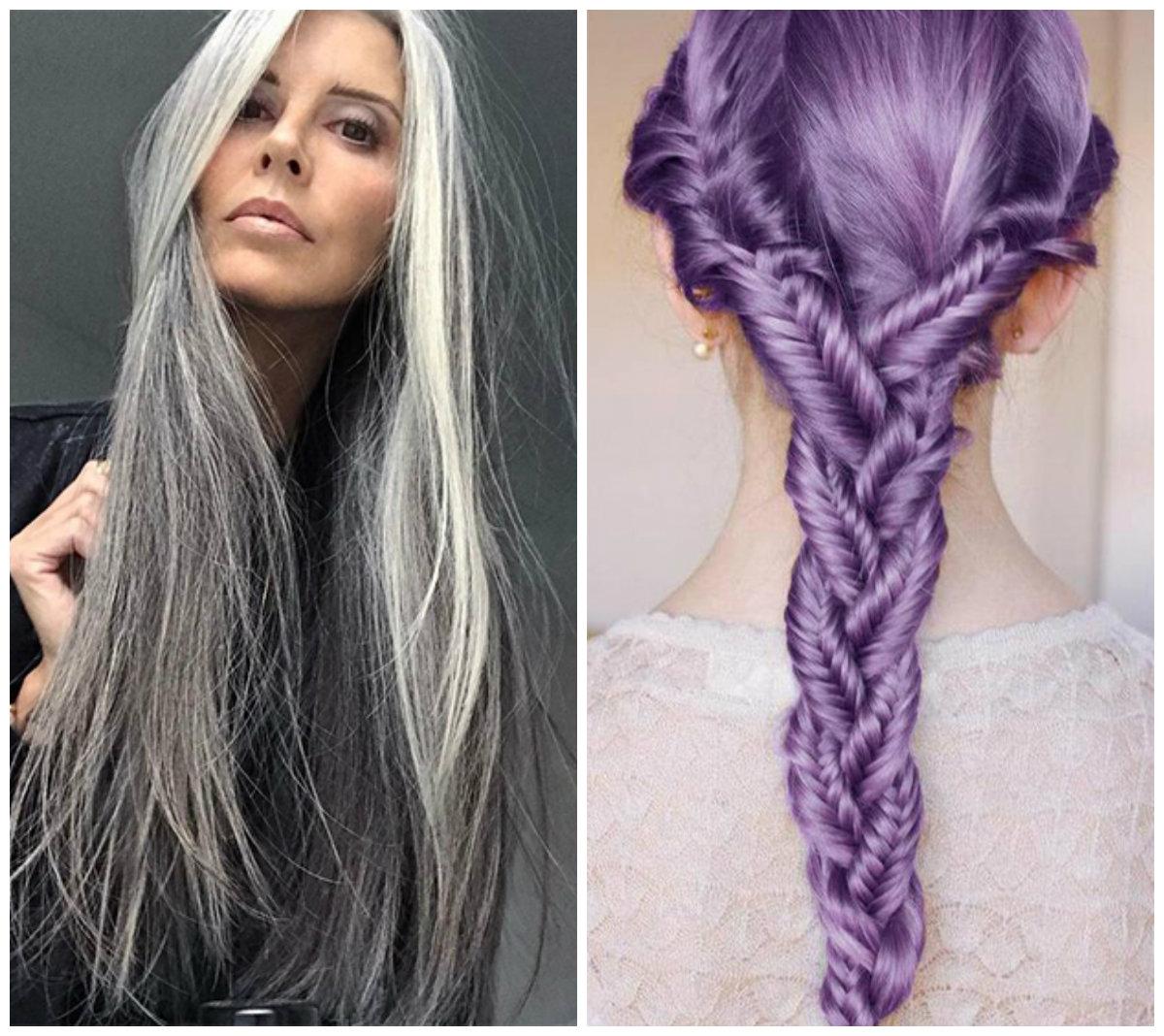 penteados para ano novo 2019, cores em moda
