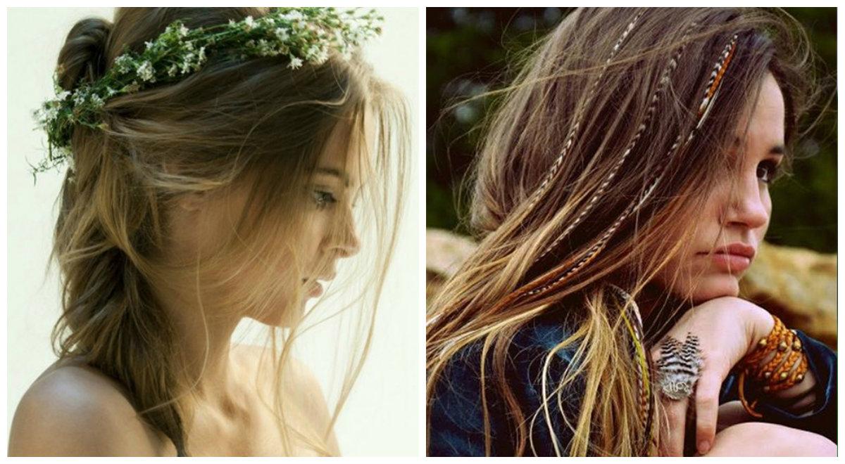 penteados para o dia dos namorados, penteados de estilo Boho