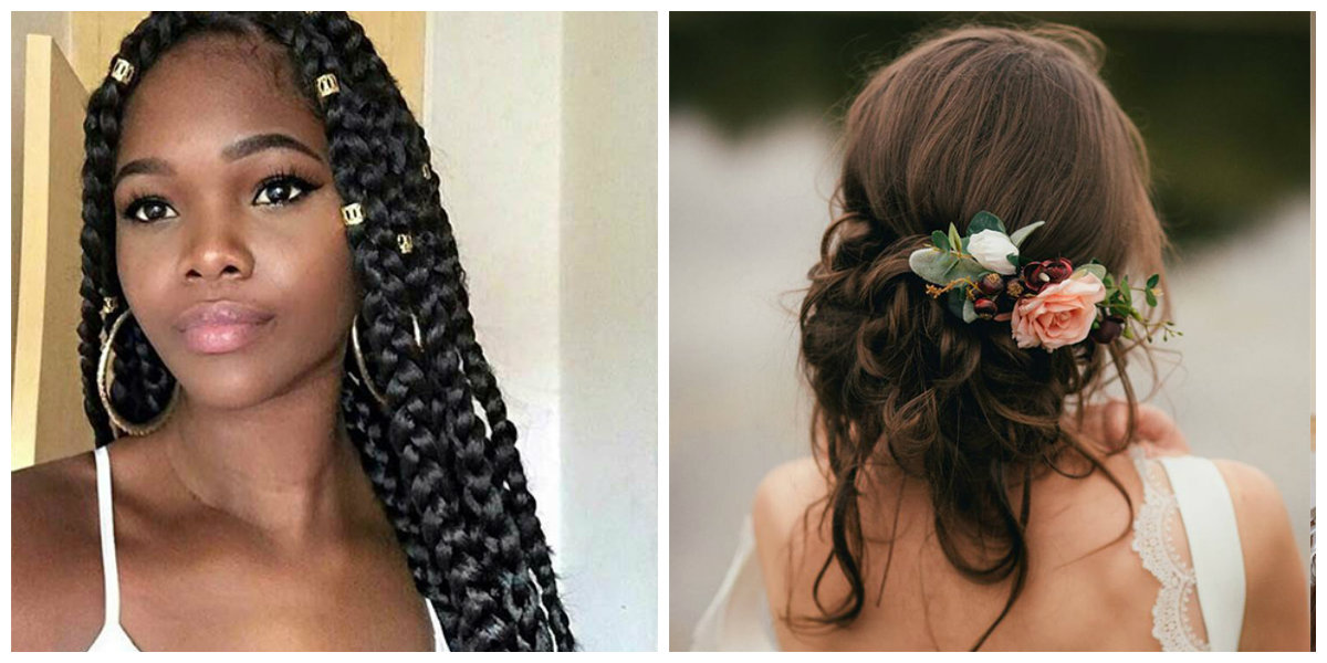 tranças de cabelo., penteados modernos