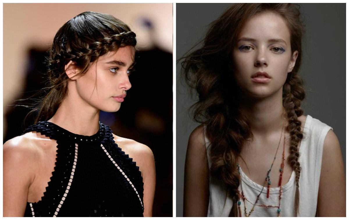 tranças de cabelo, penteados modernos