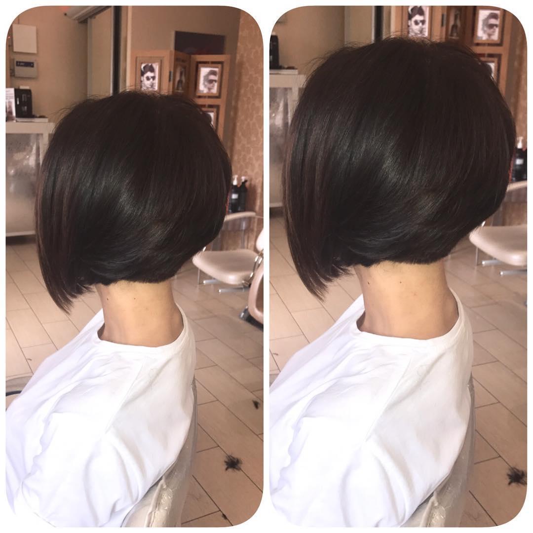 Corte-de-cabelo-curto-feminino-2019-Penteados-fáceis-para-cabelos-curtos