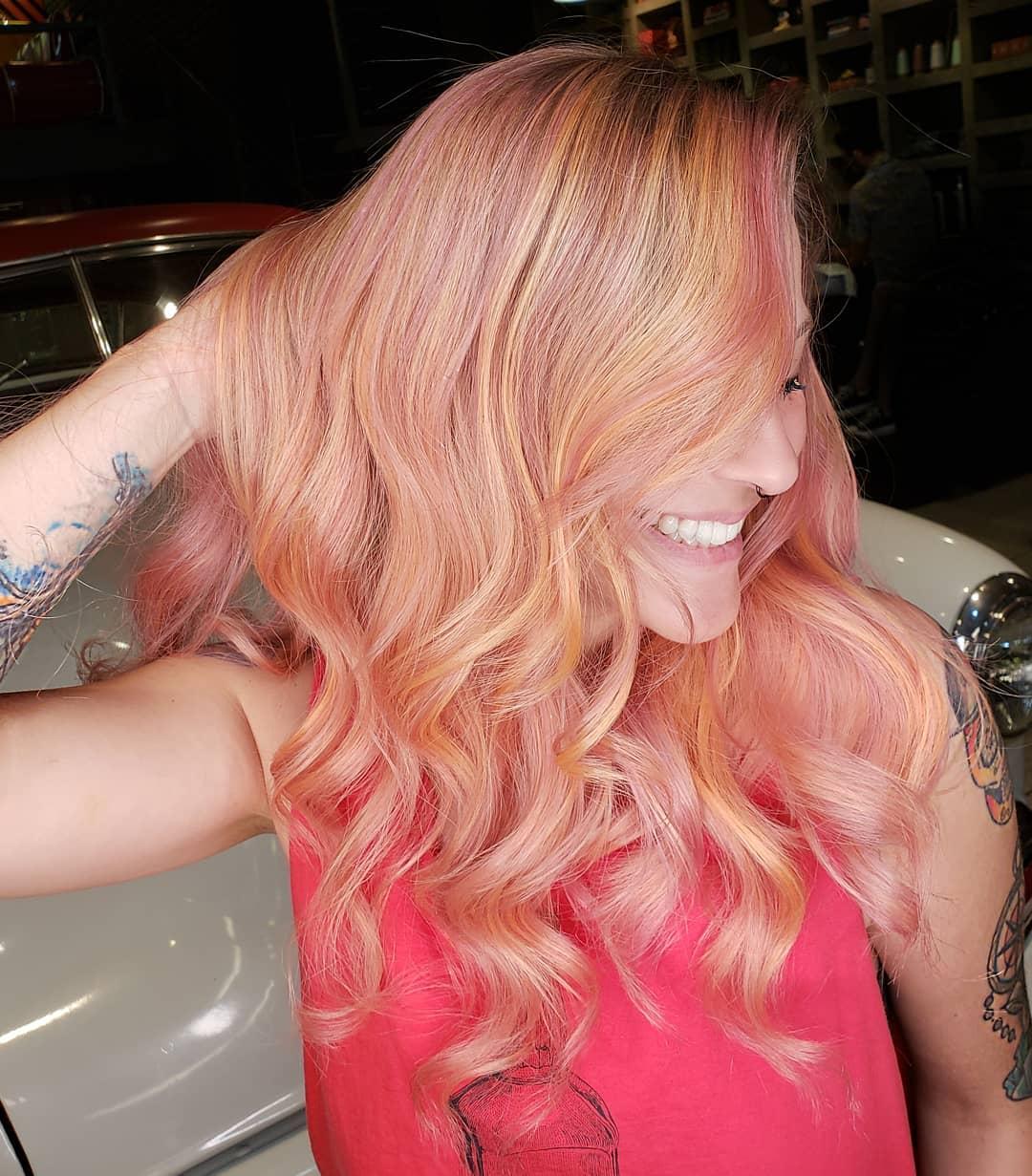 Cabelo-blorange-Dicas-de-moda-para-cores-de-cabelo-atuais