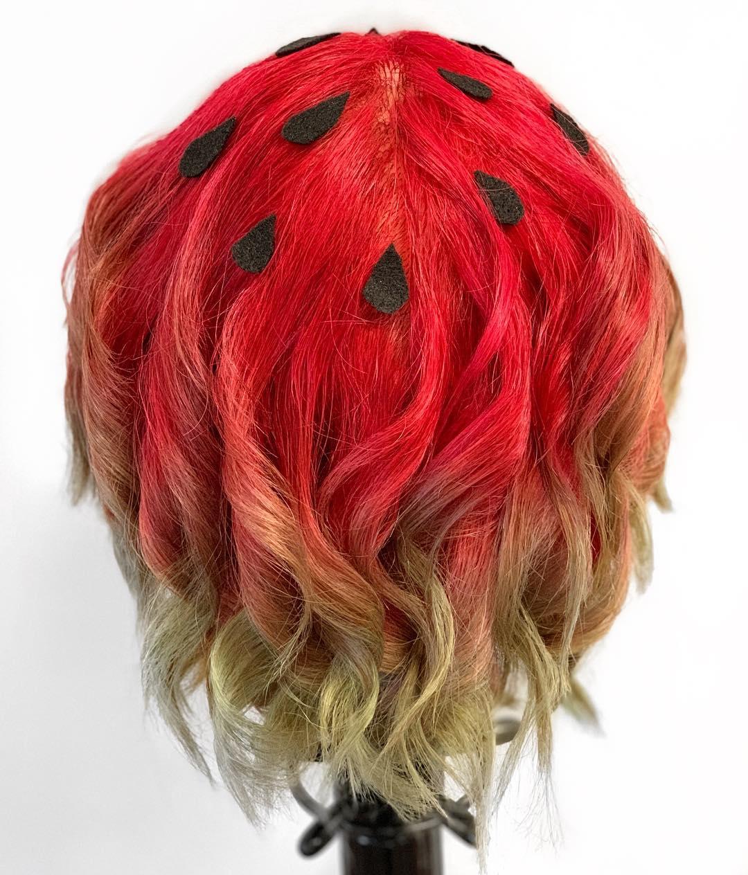 Cabelo-melancia-Mantenha-o-verão-em-sua-cabeça,-tendências-originais