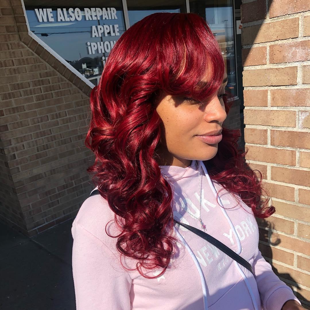 Cor-de-cabelo-borgonha-7-idéias,-dicas-incríveis-deste-cor-de-cabelo