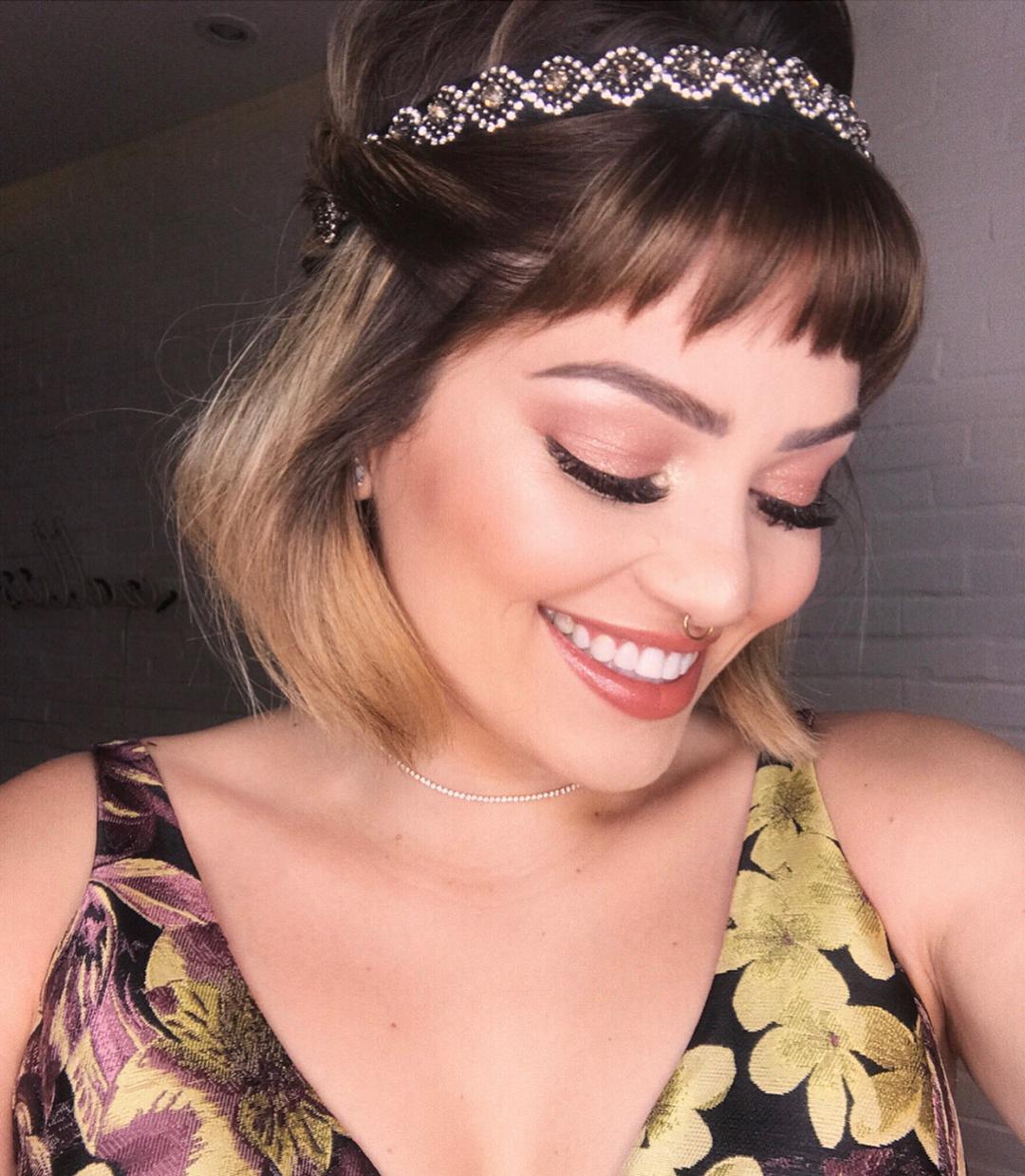 Franja-curta:-Melhores-dicas-de-penteados-atuais-para-mulheres-modernas